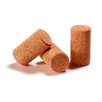 Micro agglomerated corks for wine bottles