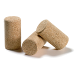 Agglomerated corks for wine bottles