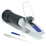 Handheld refractometer for sugar in must 0 - 40