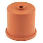 Rubber fermenter cap with diameter 40 mm